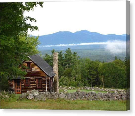 White Mountains Nh Canvas Print