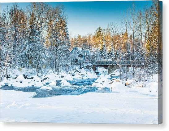 White River Canvas Print
