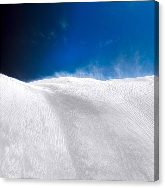 Canvas Print featuring the photograph White Sands Desert by Julian Cook