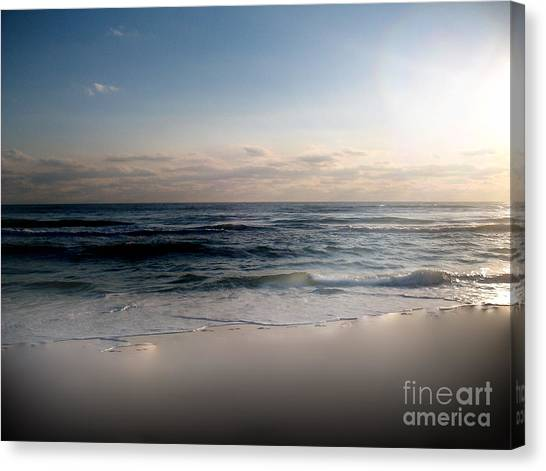 White Sands Canvas Print by Jeffery Fagan
