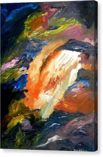 White Spot Canvas Print