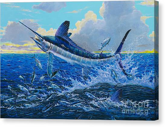 Yamaha Canvas Print - White Surprise Off0050 by Carey Chen