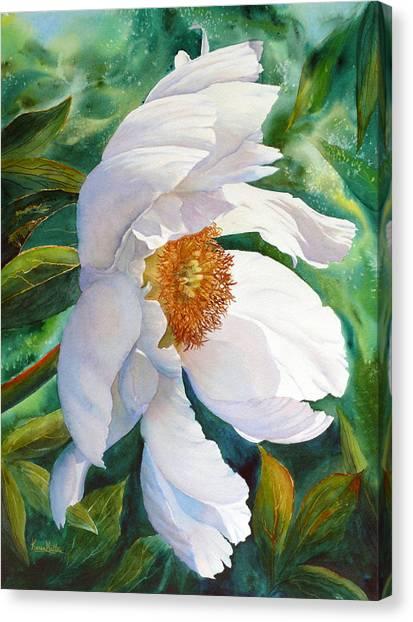 White Wonder Canvas Print