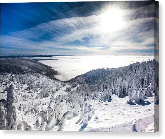 Whitefish Inversion Canvas Print