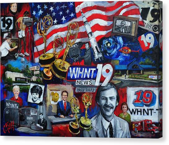 Whnt 50 Years Canvas Print
