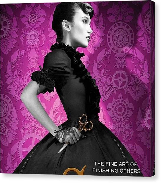 Steampunk Canvas Print - Who Doesn't Love This Cover?! I Loved by Jenna Jones