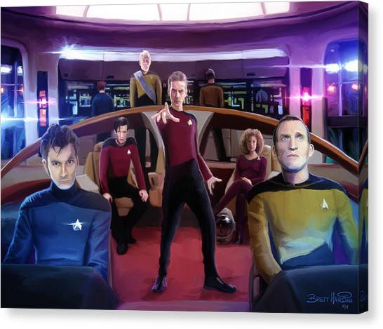 Who Trek Canvas Print