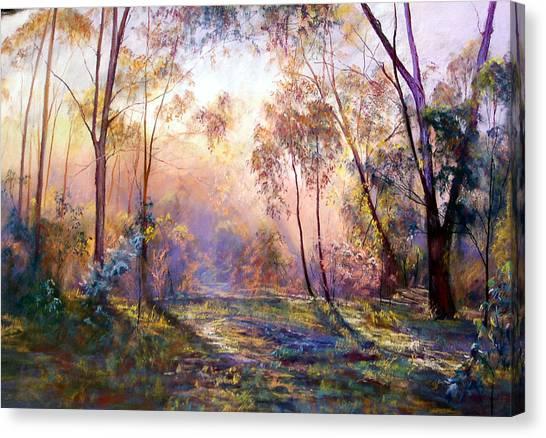 Why I Live Where I Live Canvas Print by Lynda Robinson