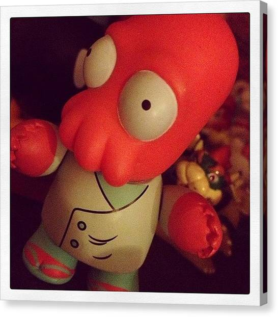 Lobster Canvas Print - #whynotzoidberg ?! 💕 He's So by Katrina A