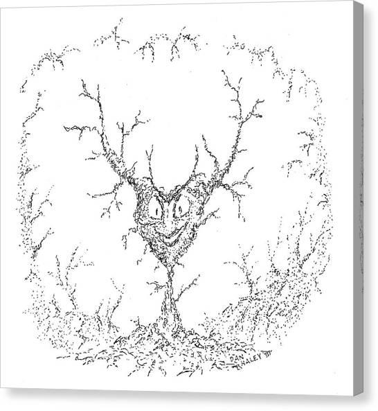 Wicked Heart Canvas Print by Dan Haley