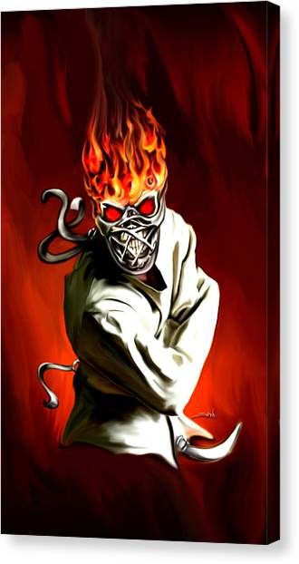 Wicked Insanity By Spano Canvas Print