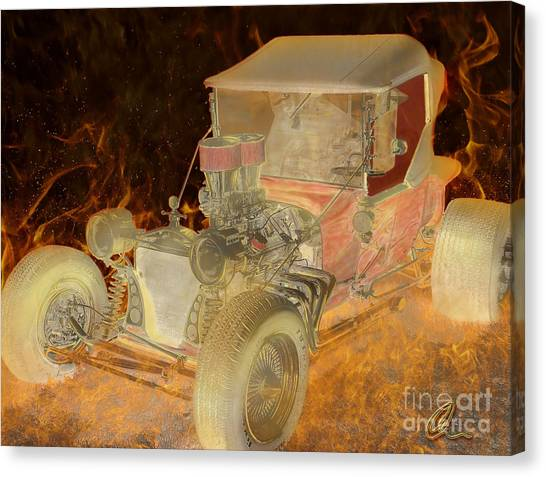 Wicked Ride Canvas Print