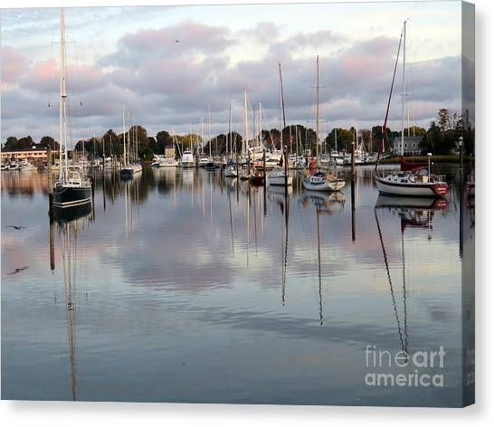 Wickford Evening II Canvas Print