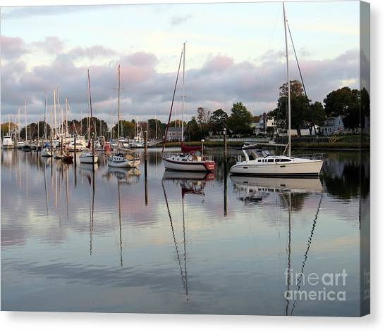Wickford Evening IIi Canvas Print