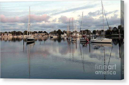 Wickford Evening Canvas Print