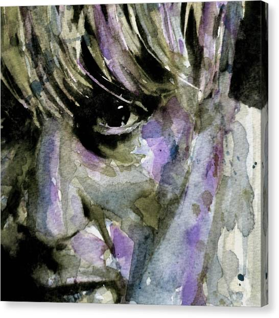 Boy Canvas Print - Wide Eyed Boy From Freecloud by Paul Lovering