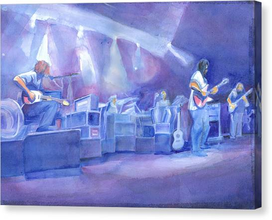 Widespread Panic With Michael Houser  Canvas Print