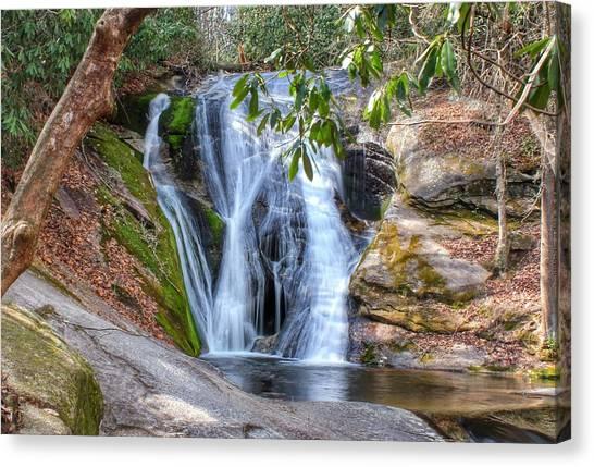 Widows Creek Falls Canvas Print