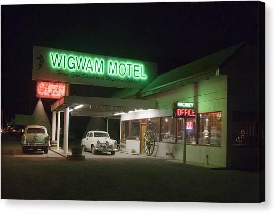 Wigwam Motel In Holbrook Canvas Print
