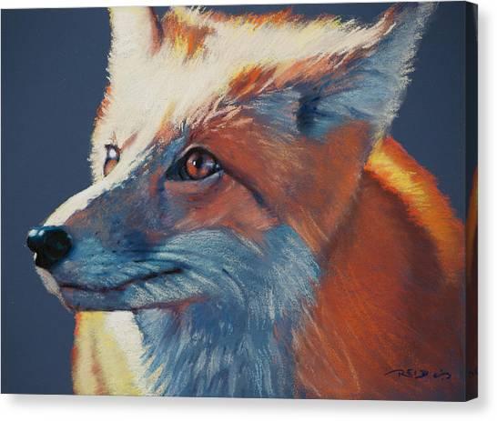 Wilbur Fox Canvas Print