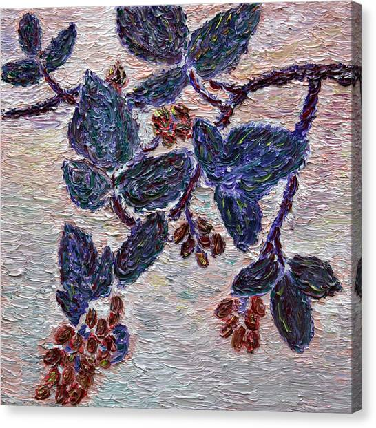 Wild Berries Canvas Print - Wild Berries by Vadim Levin