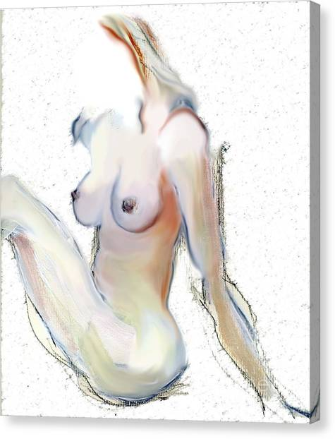 Wild - Female Nude Canvas Print