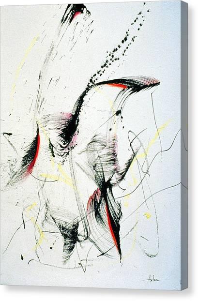 Wild Dancing Canvas Print