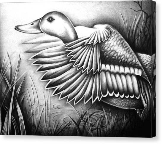 Wild Duck Canvas Print