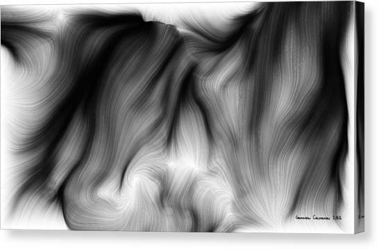 Wild Hair 1 Canvas Print by German Calderon