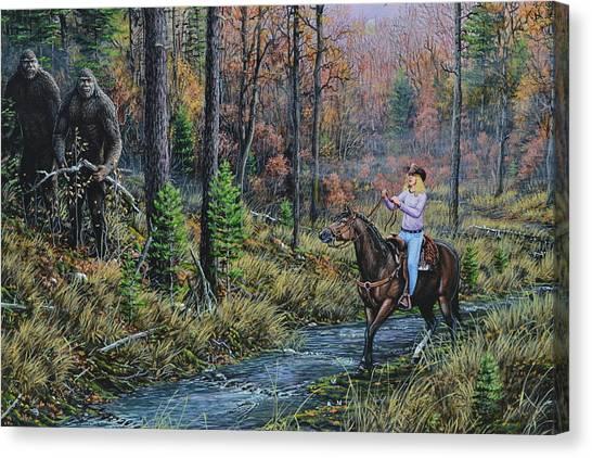 Wild Heart Encounter Canvas Print