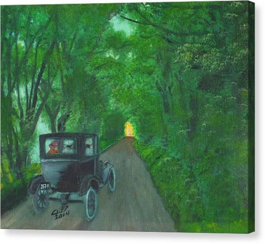 Wild Irish Roads Canvas Print