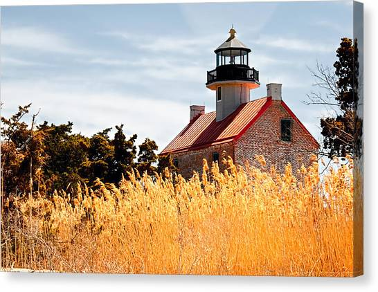 Wild Lighthouse Canvas Print