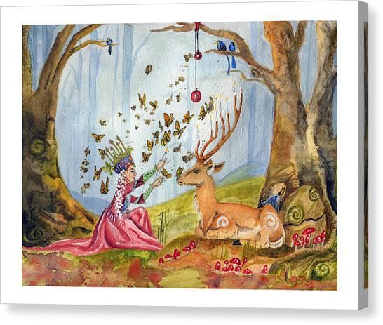 Wild Menorah Canvas Print
