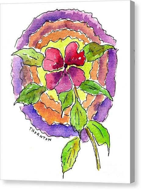 Wild Wildflower Canvas Print