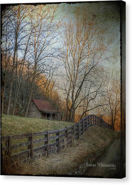 Wildcat Road Cabin Canvas Print