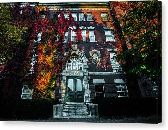 Dartmouth College Canvas Print - Wilder Hall by Jeff Ortakales