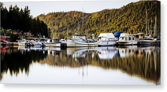 Wilderness Fishing Boats Canvas Print