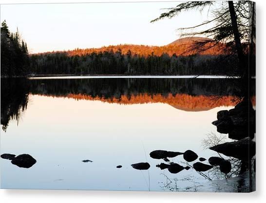 Wilderness Sunset Canvas Print