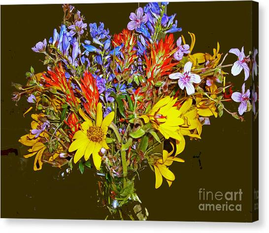 Wildflower Reminiscences Canvas Print
