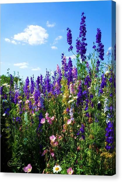 Wildflowers #9 Canvas Print
