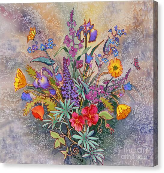 Wildflowers Of Alaska II Canvas Print