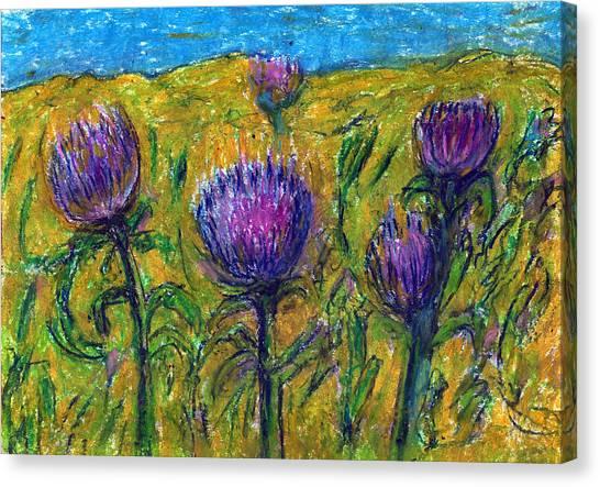 Wildflowers Canvas Print by Yuri Lushnichenko