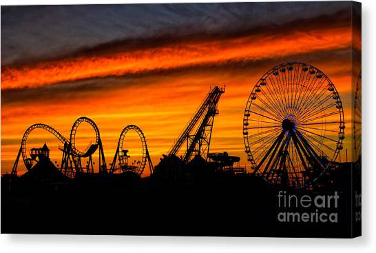 Wildwood At Dawn Canvas Print