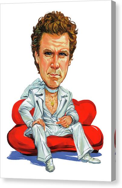 Will Ferrell Canvas Print by Art