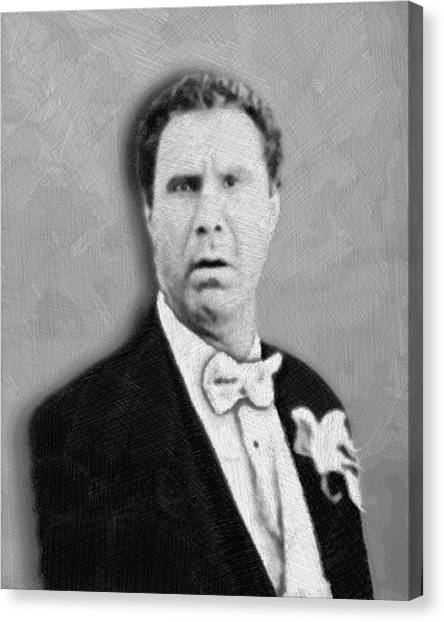 Will Ferrell Old School  Canvas Print