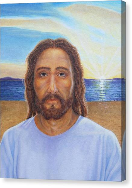 Will You Follow Me - Jesus Canvas Print