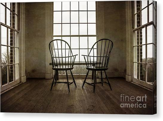 Will You Sit With Me? Canvas Print