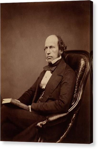 Unconscious Canvas Print - William Carpenter by Royal Institution Of Great Britain / Science Photo Library