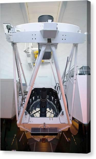 William Herschel Telescope Canvas Print by Adam Hart-davis/science Photo Library
