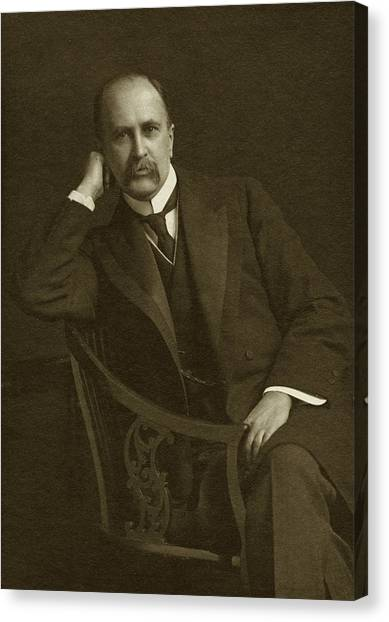 Johns Hopkins Canvas Print - William Osler by National Library Of Medicine